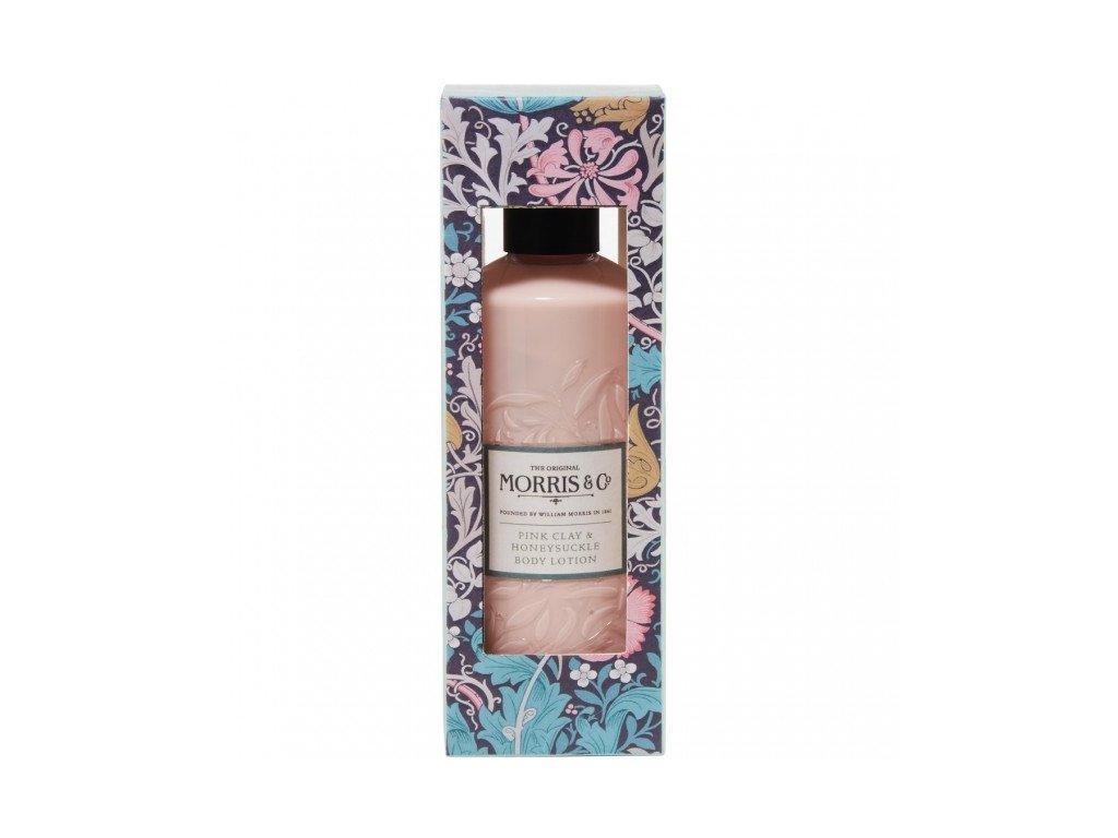Heathcote & Ivory Vyživující tělové mléko - Pink Clay & Honeysuckle, 300ml