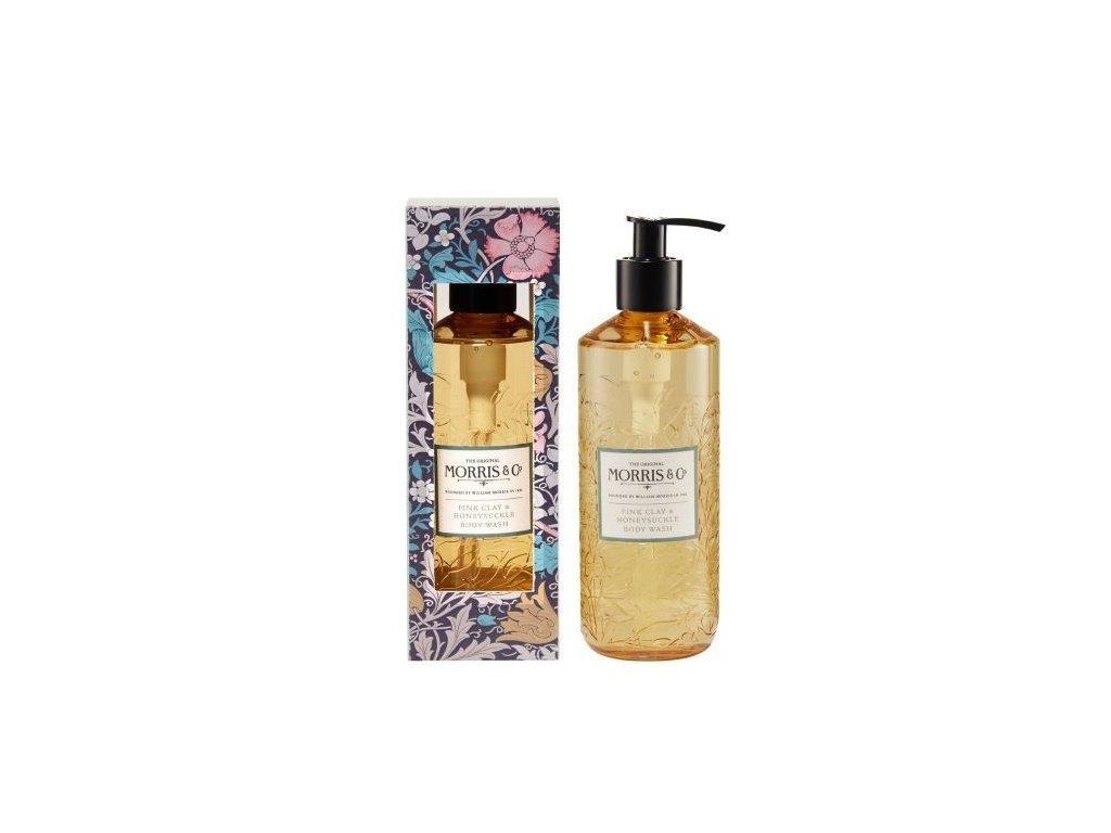 Heathcote & Ivory Vyživující sprchový gel - Pink Clay & Honeysuckle, 300ml