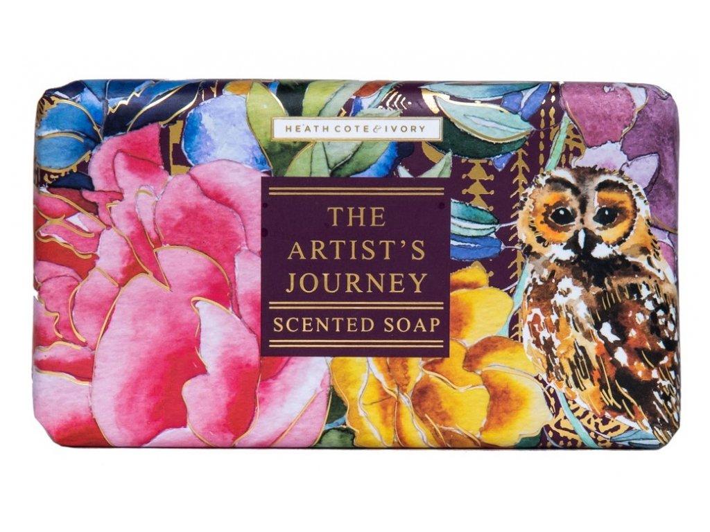 Heathcote & Ivory Luxusní třikrát jemně mleté mýdlo - The Artist´s Journey, 240g