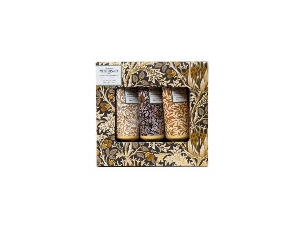 Heathcote & Ivory Sada krémů na ruce - Iris & Cardamom, 3x30ml