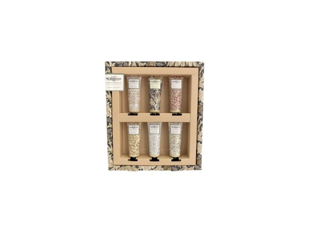 Heathcote & Ivory Sada krémů na ruce - Iris & Cardamom, 6x30ml