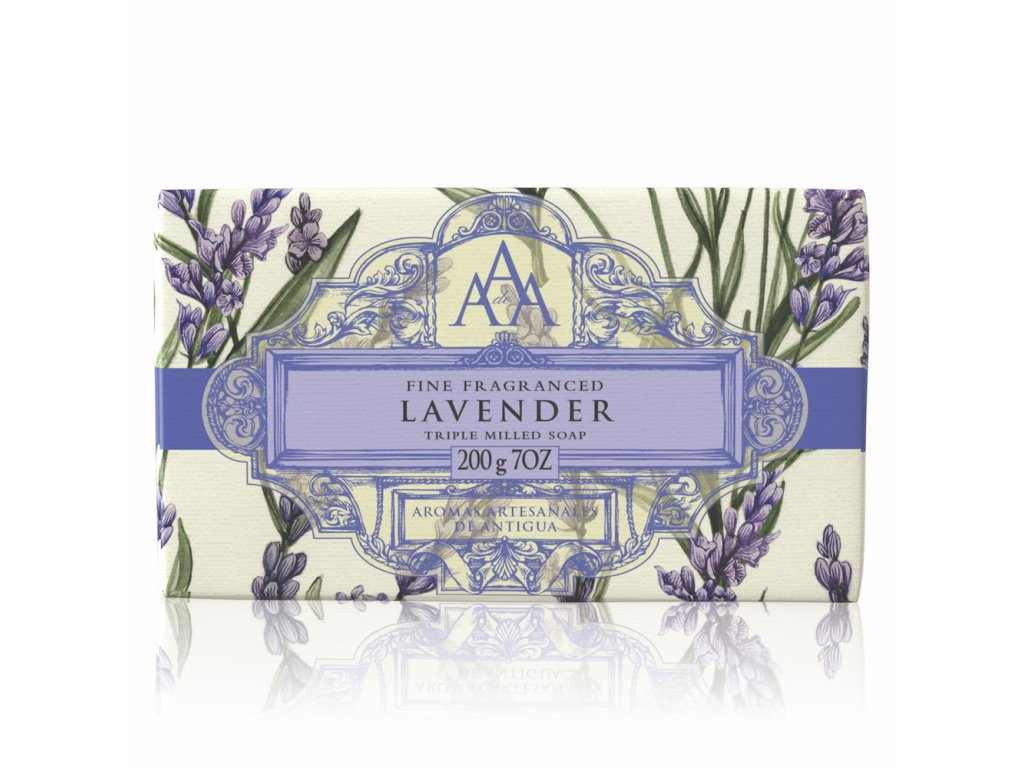 AAA Floral Soap Bar Lavender High Res