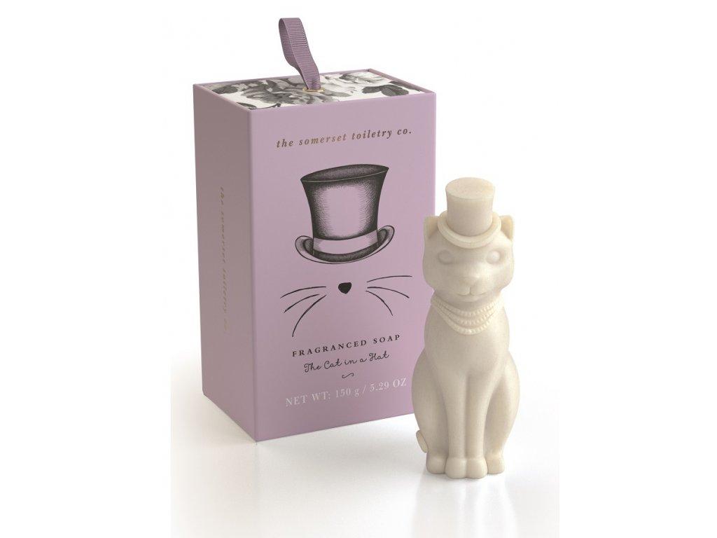 Somerset Toiletry Luxusní mýdlo v Dárkové krabičce - Kočka, 150g
