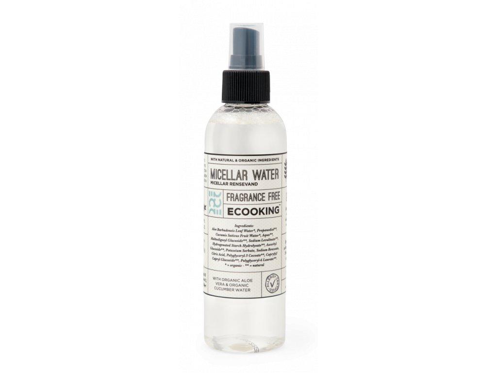 Ecooking Čistící micelární voda, 200ml