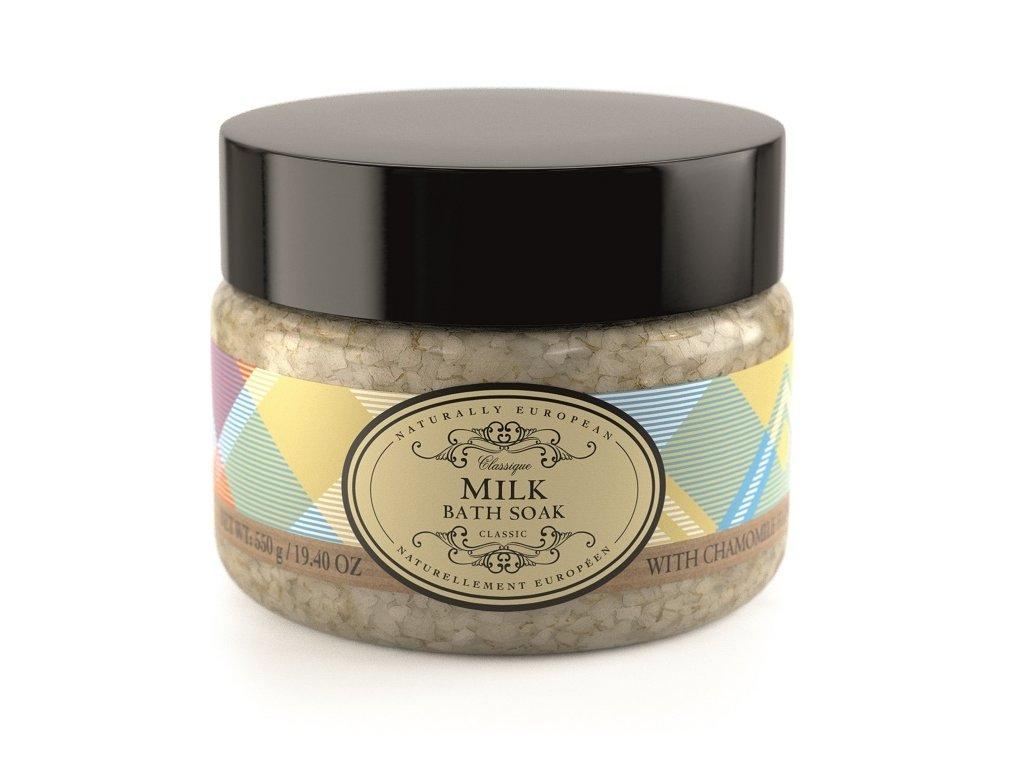 Somerset Toiletry Koupelová sůl - Mléko + Květy heřmánku, 550g