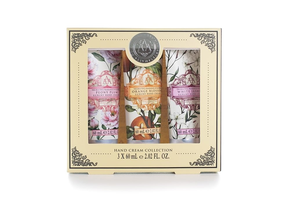 Somerset Toiletry Sada Krémů na ruce - Floral 3 x 60ml