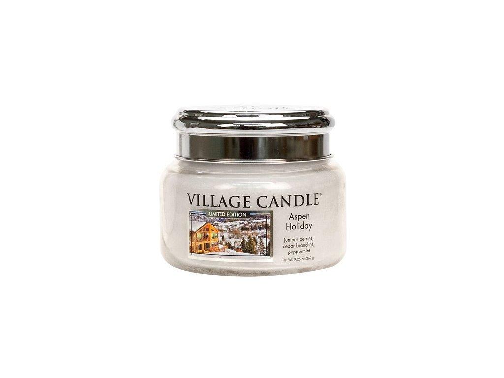 Village Candle Vonná svíčka ve skle - Aspen Holiday, 11oz