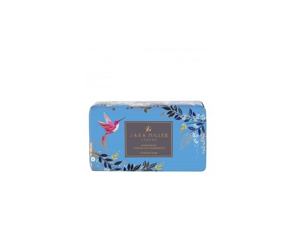 Heathcote & Ivory Luxusní třikrát jemně mleté mýdlo - Blue, 240g