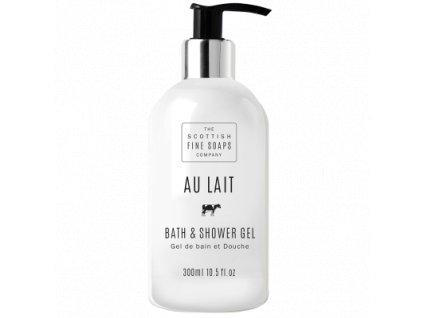 Scottish Fine Soaps Koupelový a sprchový gel - Au Lait, 300ml