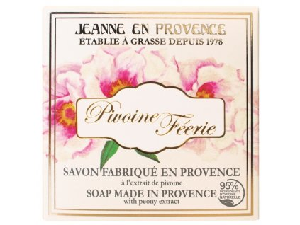 Jeanne en Provence Mýdlo - Pivoňka, 100g