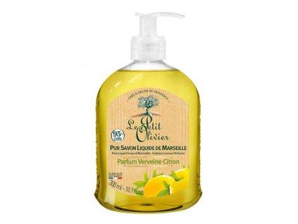 Le Petit Olivier Tekuté mýdlo - Verbena a citrón, 300ml