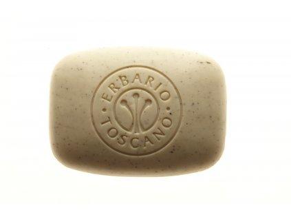Erbario Toscano BIO exfoliační mýdlo - Hrozen, 140g
