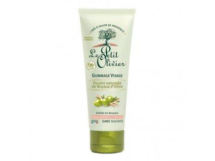 gommage visage olive
