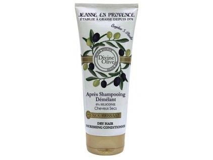 Jeanne en Provence Vyživující kondicionér na suché vlasy - Oliva, 200ml