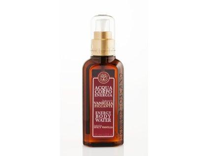 Erbario Toscano Tělová voda - Vanilka a koření, 125ml