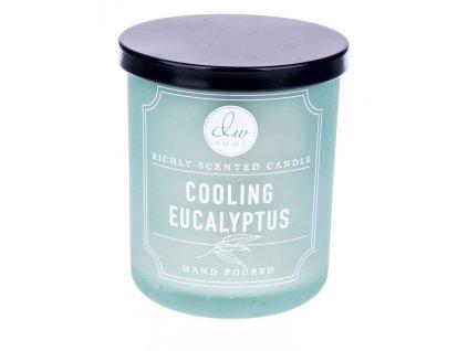 DW Home Vonná svíčka ve skle Svěží eukalyptus - Cooling Eucalyptus, 9,5oz