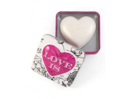 Somerset Toiletry Mýdlo v plechu - Love, 150g