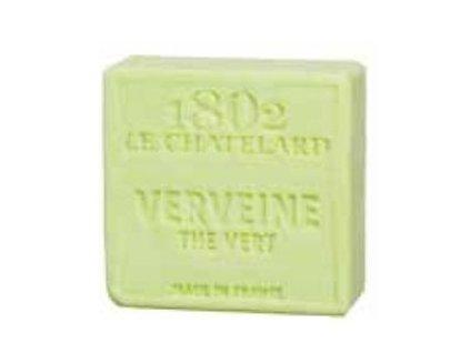 Le Chatelard Mýdlo čtverec - Verbena a zelený čaj (Verveine Thé Vert), 100g