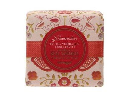 Real Saboaria Luxusní mýdlo - Červené bobule 120g