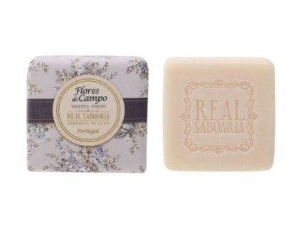 Real Saboaria Luxusní mýdlo - Fialka 50g