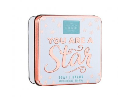 Scottish Fine Soaps Mýdlo v plechu - You Are A Star, 100g