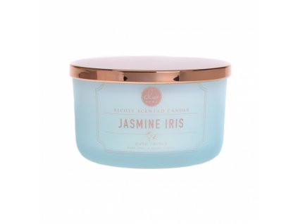 DW Home Vonná svíčka ve skle Jasmín a Kosatec - Jasmine Iris, 13,5oz