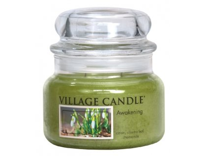 Village Candle Vonná svíčka ve skle, Jarní Probuzení - Awakening, 11oz Premium