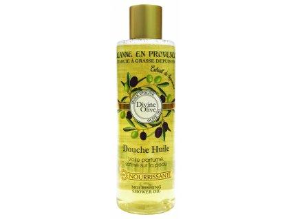 Jeanne en Provence Výživný Sprchový olej - Oliva, 250ml