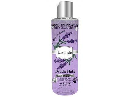 Jeanne en Provence Výživný Sprchový Olej - Levandule, 250ml
