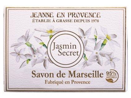 Jeanne en Provence Luxusní mýdlo - Tajemství Jasmínu, 100g