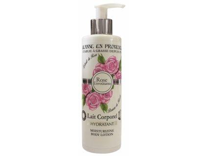 Jeanne en Provence Tělové mléko - Podmanivá Růže, 250ml