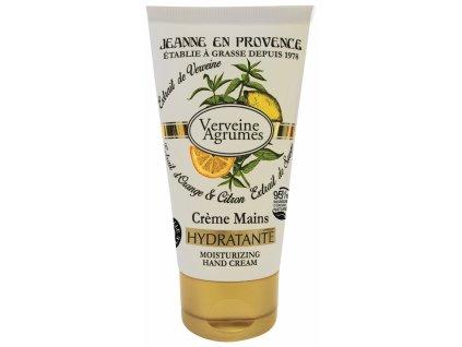 Jeanne en Provence Krém na ruce - Verbena a citrón, 75ml