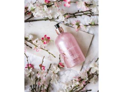 Baylis & Harding Tekuté mýdlo na ruce - Růžová magnólie a Hruškový květ, 500ml