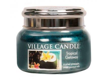 Village Candle Vonná svíčka ve skle, Víkend v tropech - Tropical Getaway, 11oz