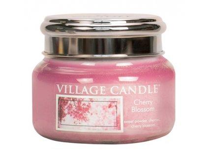 Village Candle Vonná svíčka ve skle, Třešňový květ - Cherry Blossom, 11oz