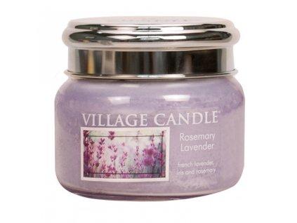 Village Candle Vonná svíčka ve skle - Rozmarýn Levandule - Rosemary Lavender, 11oz