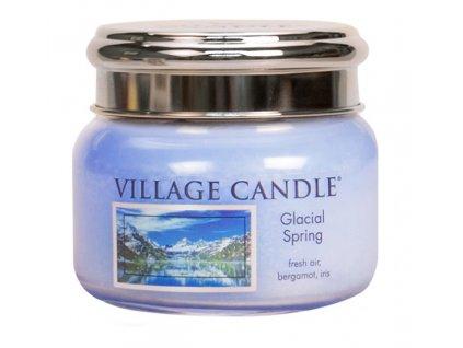 Village Candle Vonná svíčka ve skle, Ledovcový vánek - Glacial Spring, 11oz
