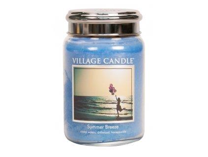Village Candle Vonná svíčka ve skle, Letní vánek - Summer Breeze, 26oz