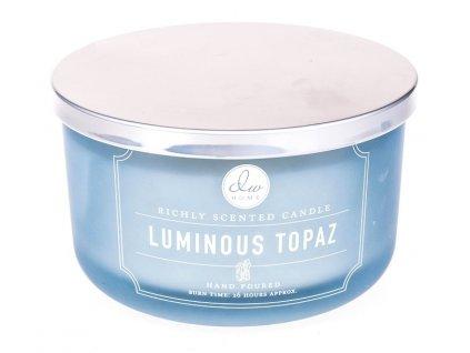 DW Home Vonná svíčka ve skle Průzračný Topaz - Luminous Topaz, 13,4oz