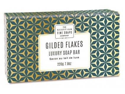 Scottish Fine Soaps Jemné Mýdlo - Pozlacené Vločky, 220g