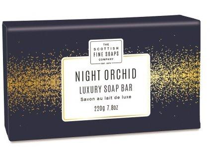 Scottish Fine Soaps Jemné Mýdlo - Noční Orchidej, 220g