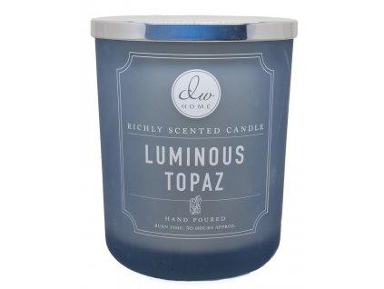 DW Home Vonná svíčka ve skle Průzračný Topaz - Luminous Topaz, 26,2oz
