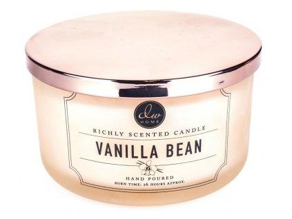 DW Home Vonná svíčka ve skle Lahodná Vanilka - Vanilla Bean, 12,8oz