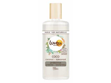 Lovea 100% Přírodní BIO Ochranný Tělový olej - Kokos, 100ml