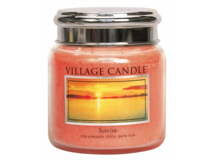 Village Candle Vonná svíčka ve skle, Východ slunce - Sunrise, 16oz