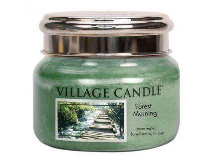 Village Candle Vonná svíčka ve skle, Lesní Probuzení - Forest Morning, 11oz