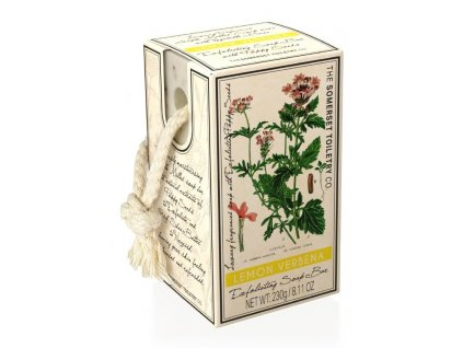Somerset Toiletry Luxusní Peelingové mýdlo na provázku - Citrón Verbena, 230g