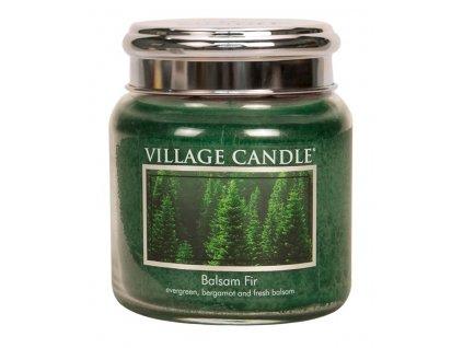 Village Candle Vonná svíčka ve skle, Jedle - Balsam Fir, 16oz