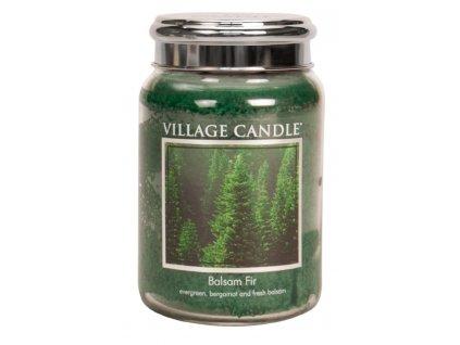 Village Candle Vonná svíčka ve skle, Jedle - Balsam Fir, 26oz