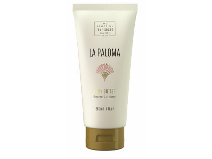Scottish Fine Soaps Tělové máslo - La Paloma, 200ml